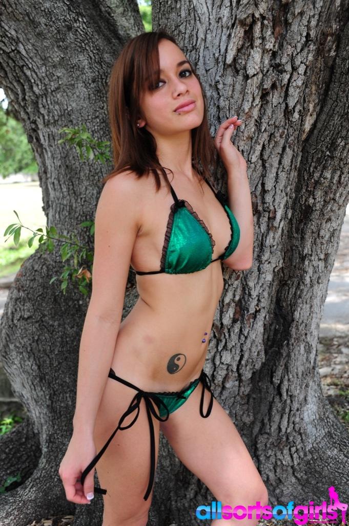 Thank you nn bikini pre look and