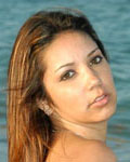 Busty Brunette Cutie Nude At The Beach - Picture 11