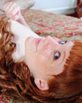 Redhaired Teen With Ruffles Gets Naked On Bed - Picture 10