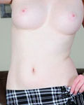Redhead Teen With Braids In A Sexy Miniskirt Toying Her Juicy Pussy - Picture 8