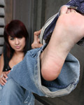 Sexy Latina Sophia Sanchez Strips On The Balcony - Picture 4